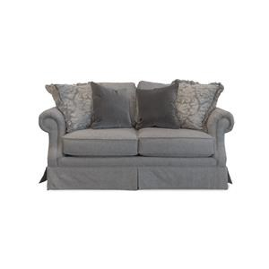 Mayo 2600 Smoke Skirted Loveseat