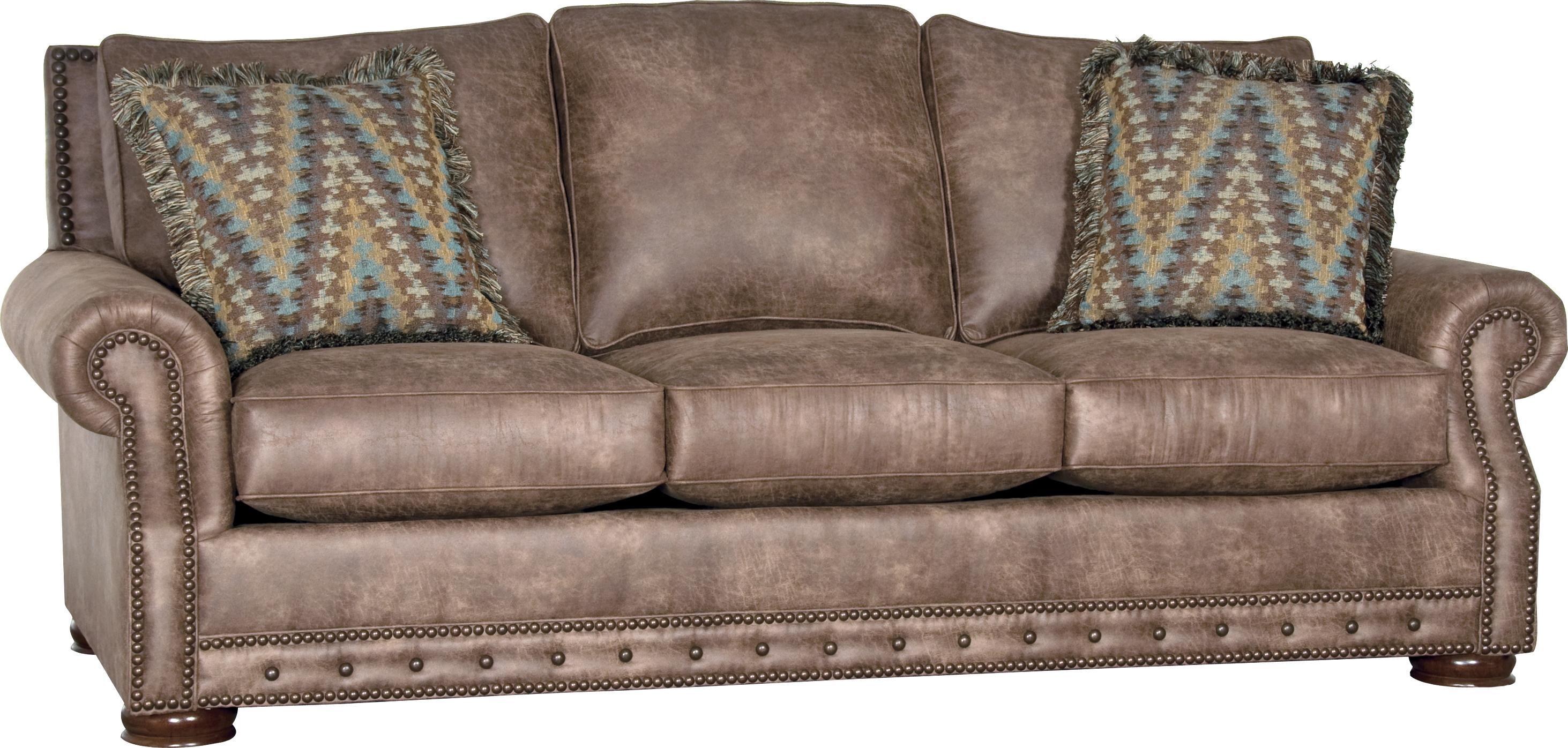 Mayo 2900 Traditional Sofa With Low Bun Feet Olinde 39 S