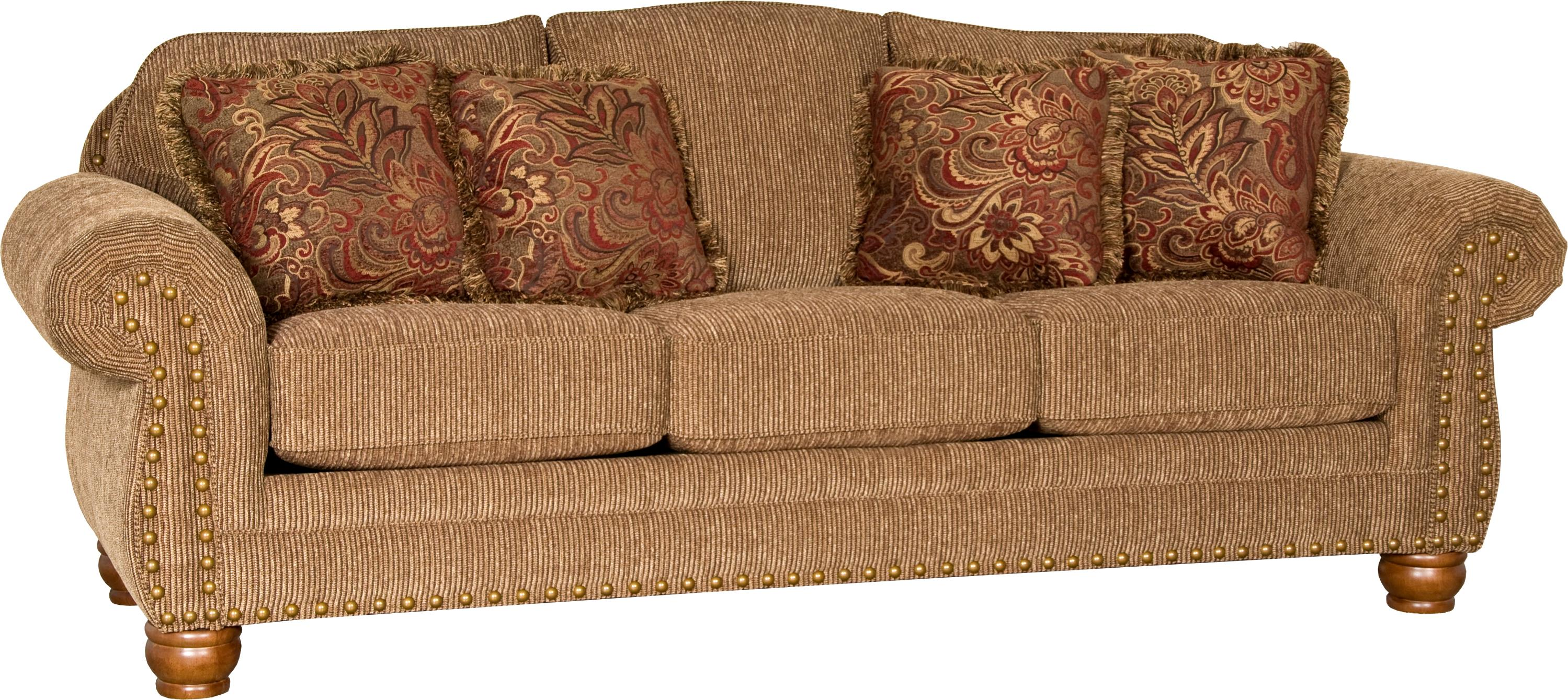 3180 Sofa by Mayo at Wilcox Furniture