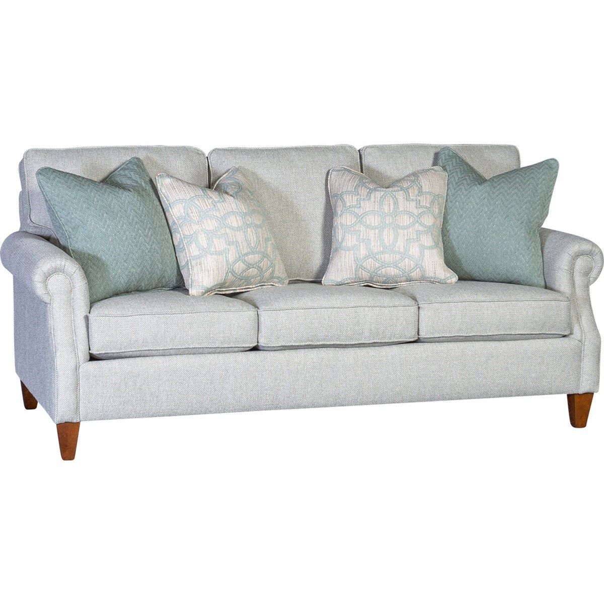 3311 Transitional Sofa by Mayo at Wilson's Furniture