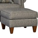Mayo 3311 Transitional Ottoman - Item Number: 3311F50-Highline-Charcoal