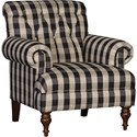 Mayo 3419 Tufted Back Chair - Item Number: 3419F40-BUFFBL