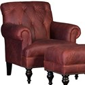 Mayo 3419 Tufted Back Chair - Item Number: 3419F40-FLEAOX