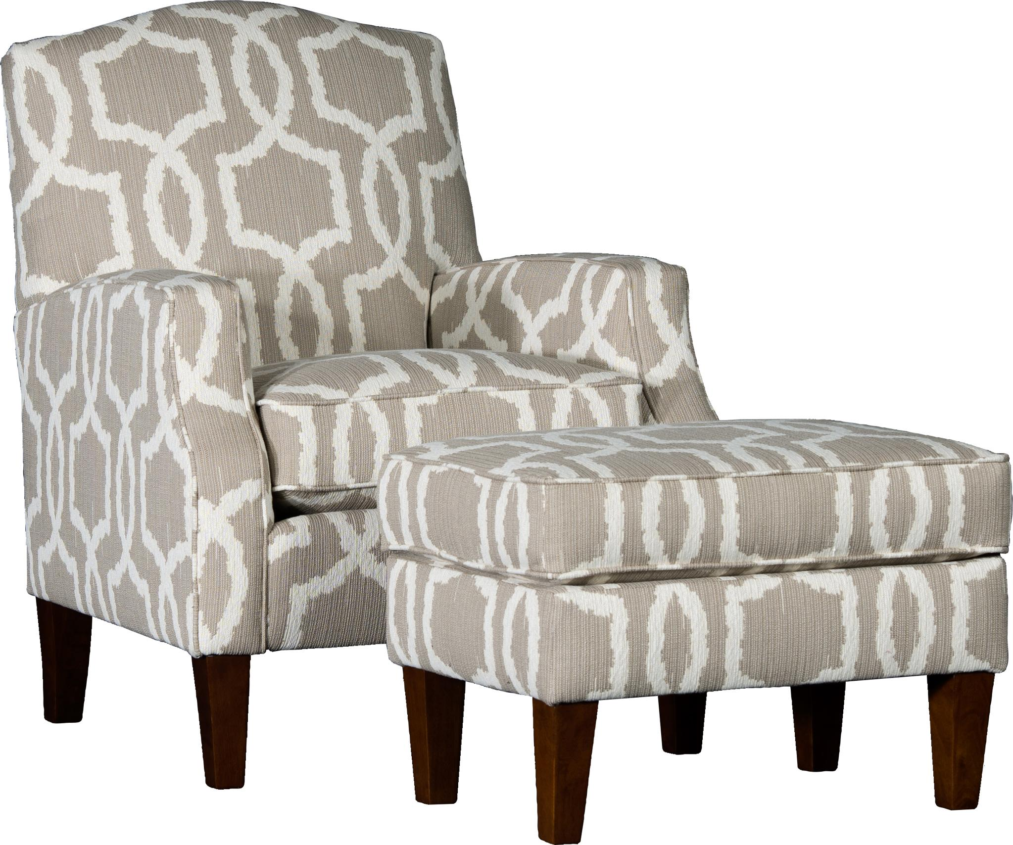 3725 Chair & Ottoman Set by Mayo at Pedigo Furniture