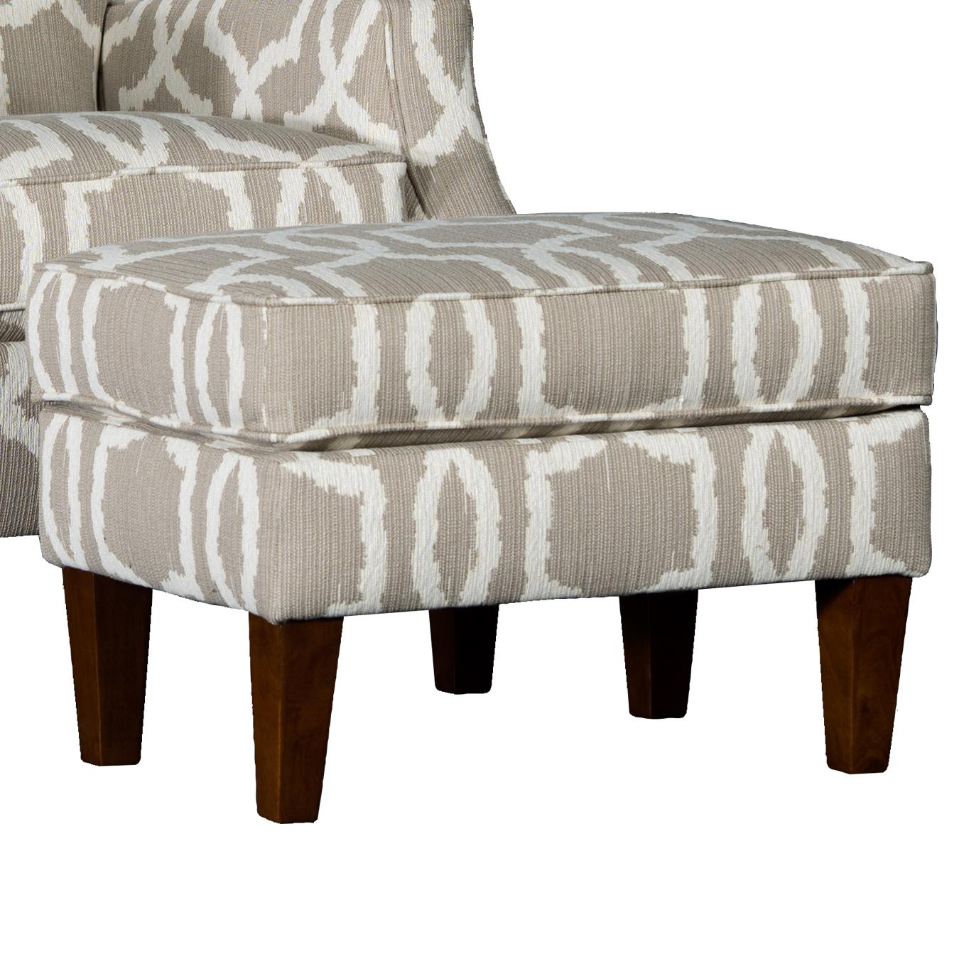 3725 Ottoman by Mayo at Wilson's Furniture