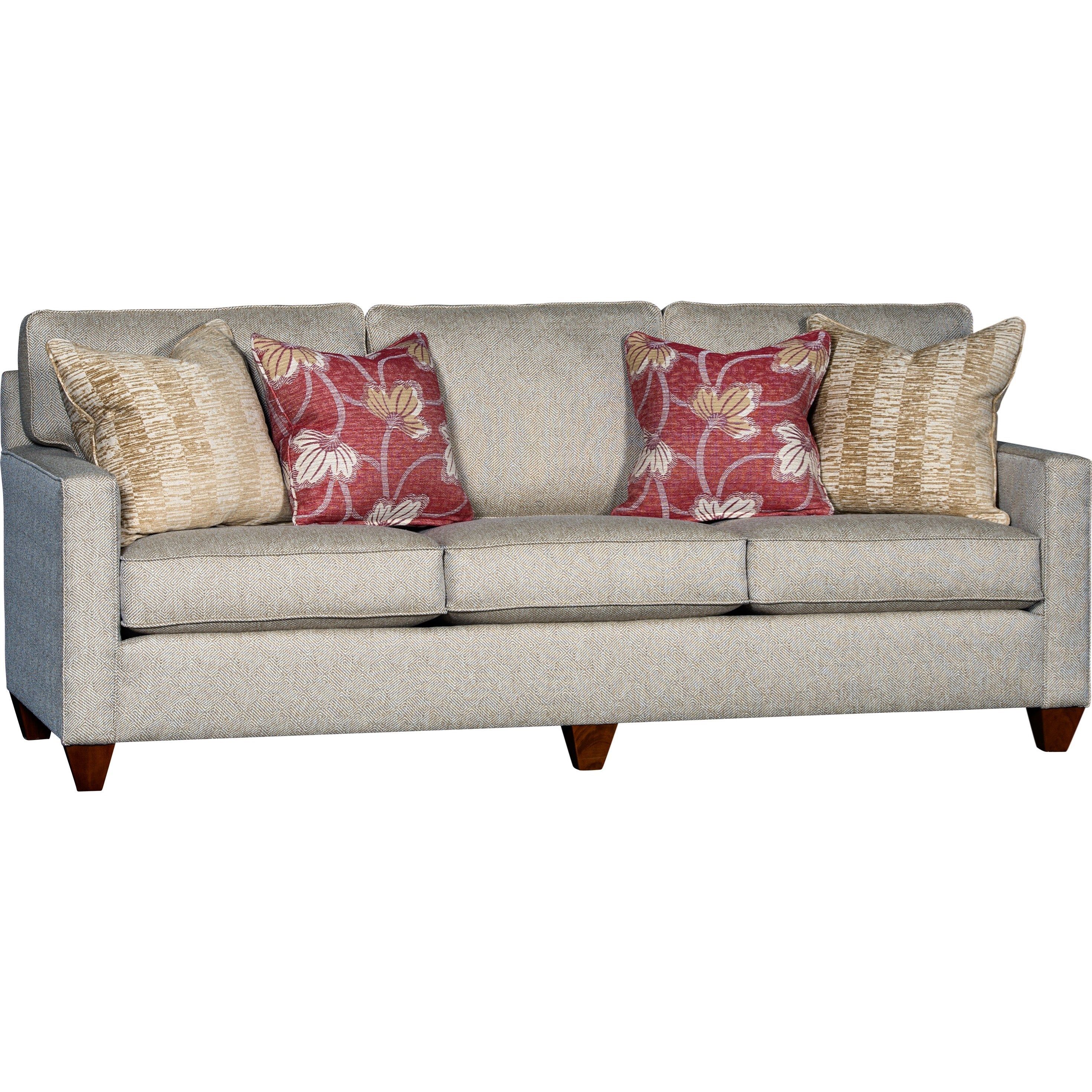 Mayo 3830 Sofa - Item Number: 3830F10-Patmos_Brass