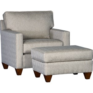 Mayo 3830 Chair and Ottoman