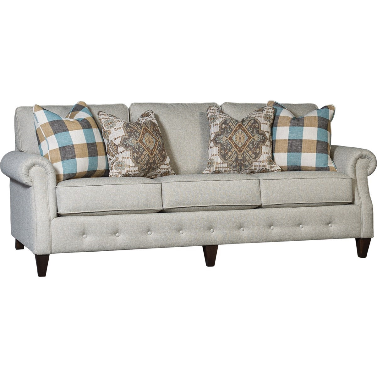 4040 Transitional Sofa by Mayo at Wilcox Furniture