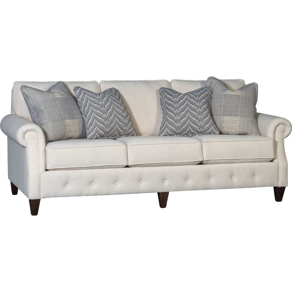 4040 Transitional Sofa by Mayo at Wilson's Furniture