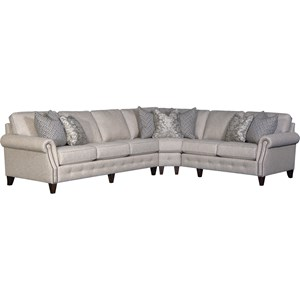 5-Seat Sectional Sofa w/ LAF Sofa