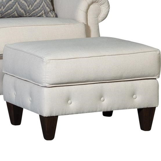 4040 Transitional Ottoman by Mayo at Story & Lee Furniture