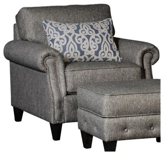 4040 Transitional Chair by Mayo at Johnny Janosik