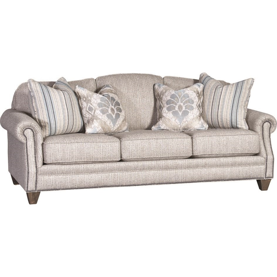 4290 Traditional Styled Sofa by Mayo at Pedigo Furniture