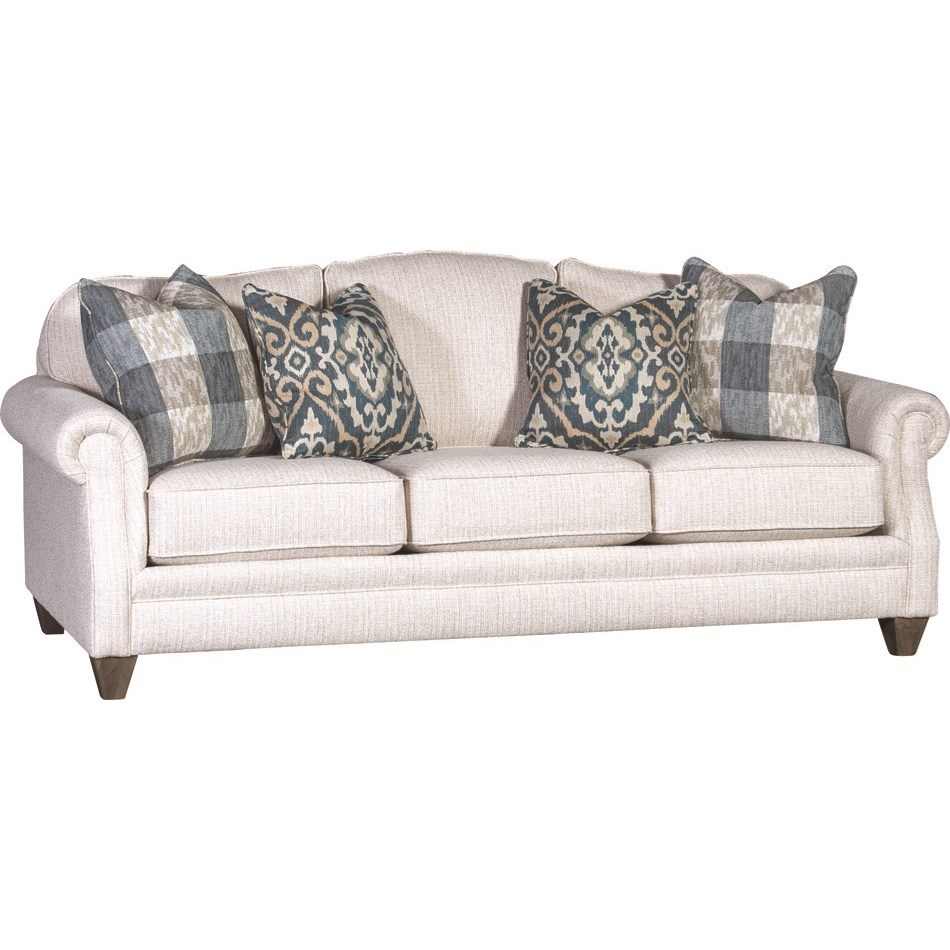 Traditional Styled Sofa
