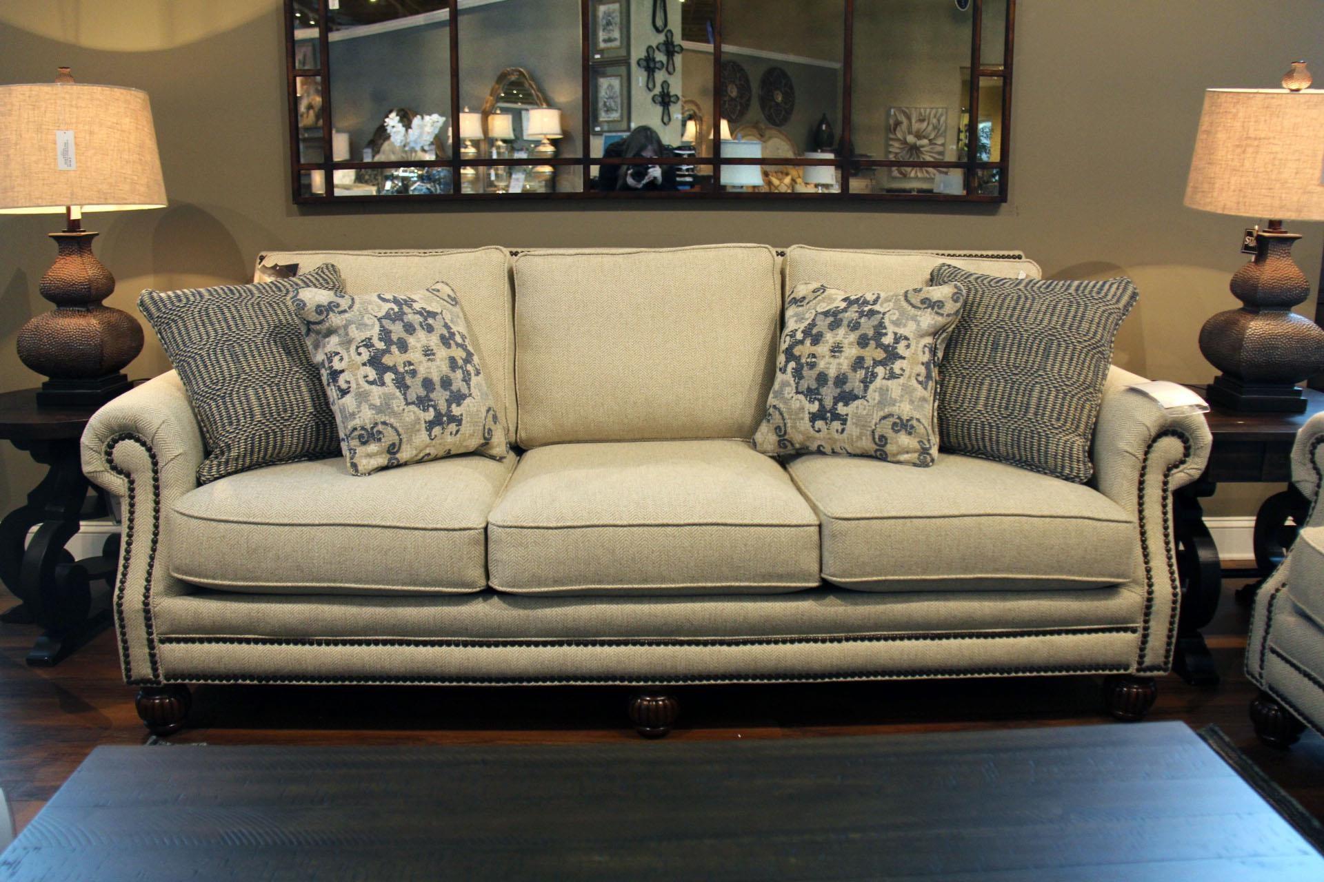 Mayo Bennington Sofa - Item Number: 4300F10 RUNAROUND-KHAKI