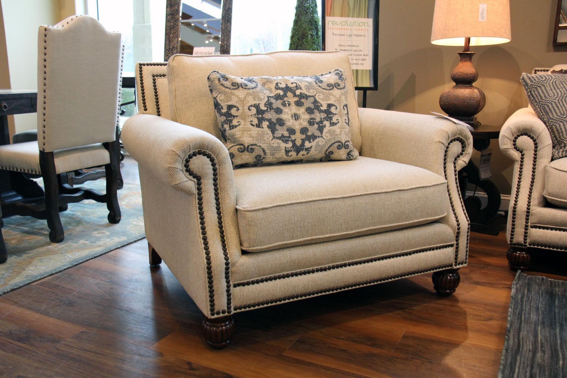 Mayo Bennington Chair - Item Number: 4300F40 RUNAROUND-KHAKI