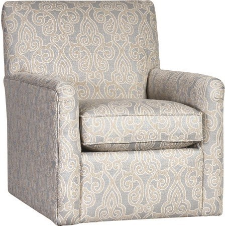 4575 Swivel Glider by Mayo at Wilson's Furniture