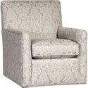 Mayo 4575 Swivel Glider - Item Number: 4575F43-Beautiful Day Sky