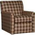 Mayo 4575 Swivel Glider - Item Number: 4575F43-BUCHBR