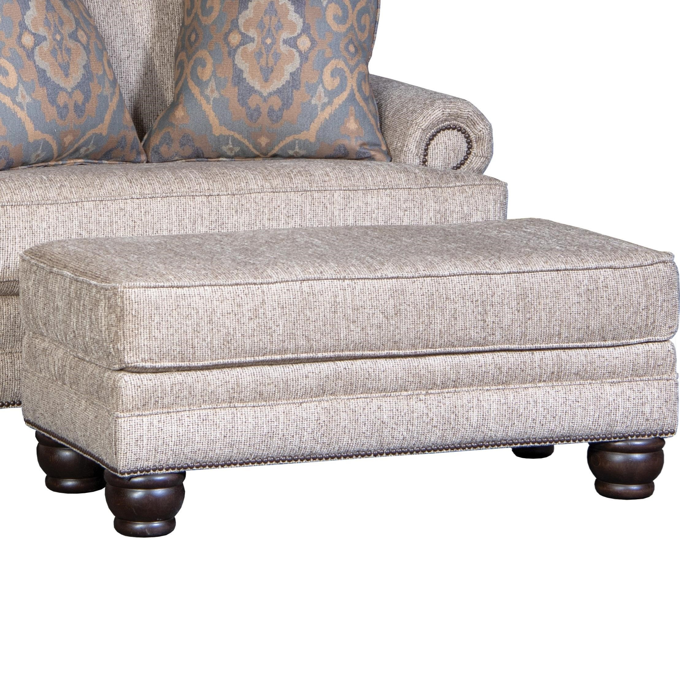 5260 Ottoman by Mayo at Wilson's Furniture