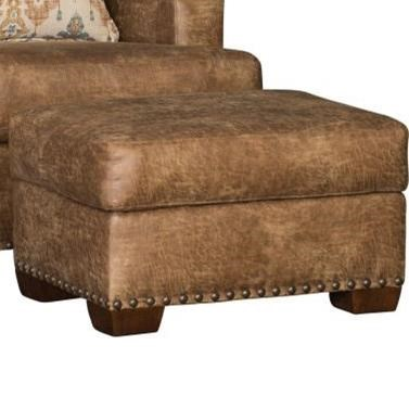 5300 Ottoman by Mayo at Wilcox Furniture