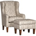 Mayo 5520 Chair and Ottoman - Item Number: 5520F40+50