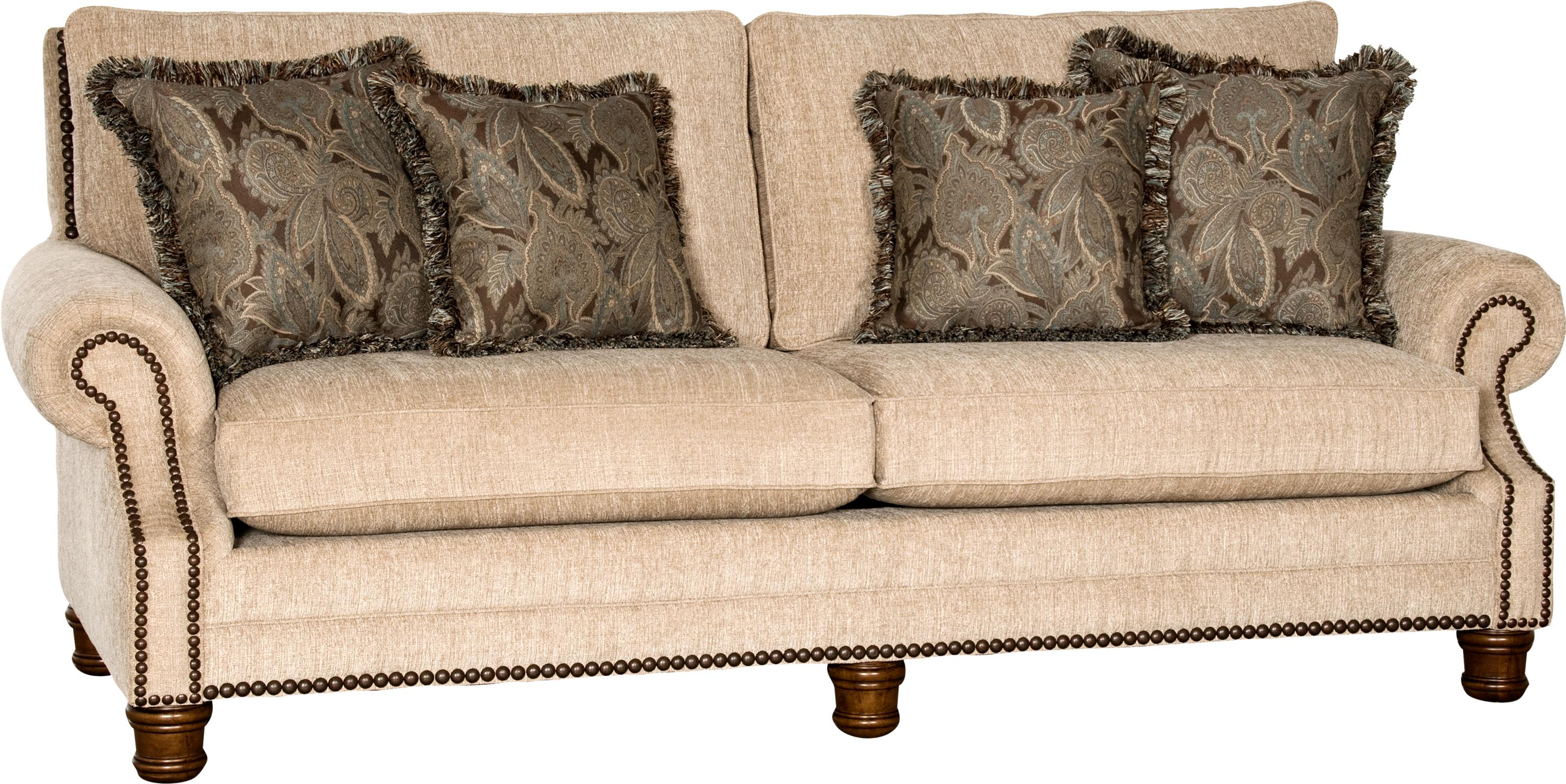 5790 Traditional Sofa by Mayo at Miller Waldrop Furniture and Decor