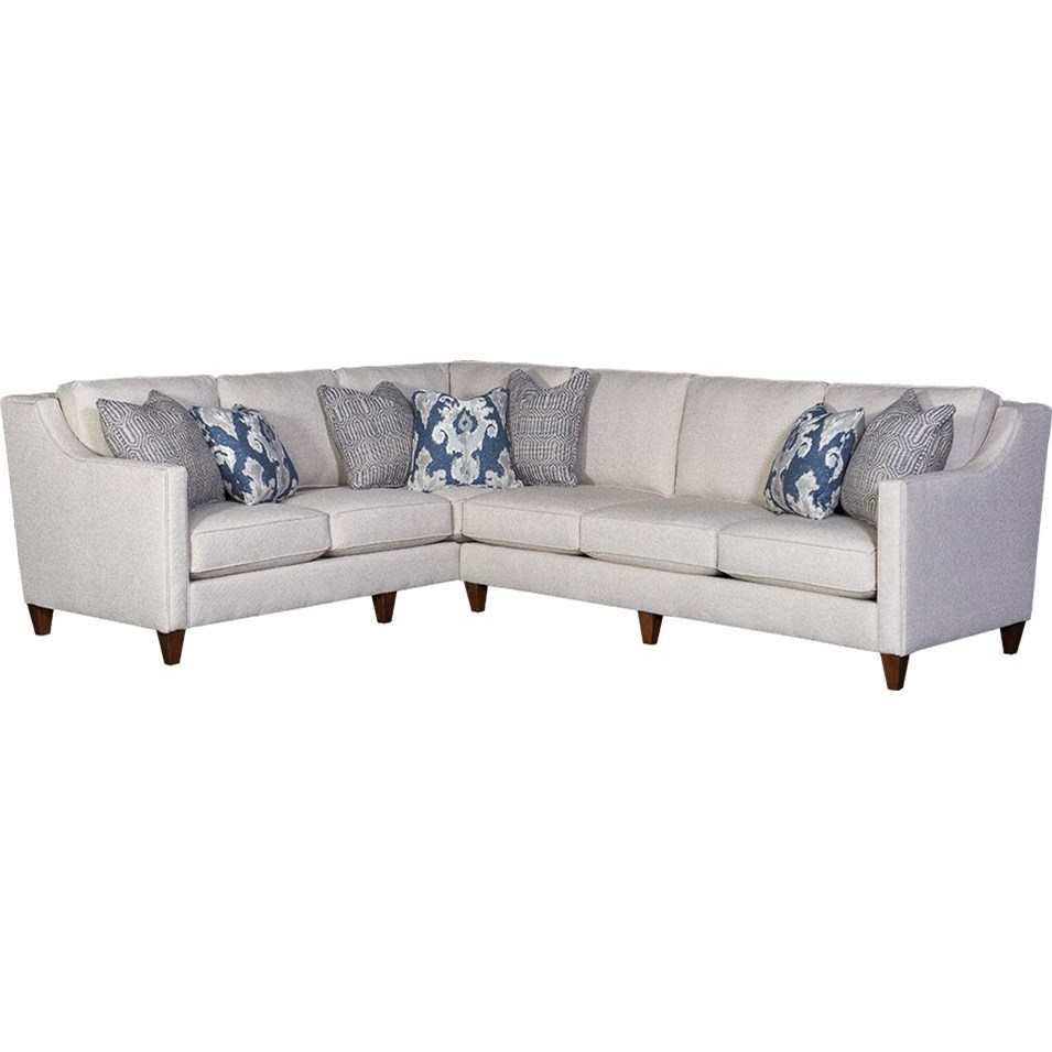 6170 Sectional by Mayo at Wilcox Furniture