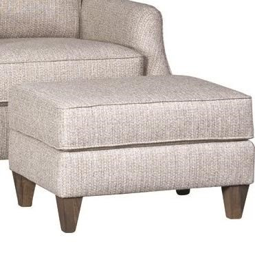 6340 Ottoman by Mayo at Wilcox Furniture