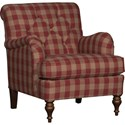 Mayo 7070 Chair - Item Number: 7070F40-Buffalo Check Red