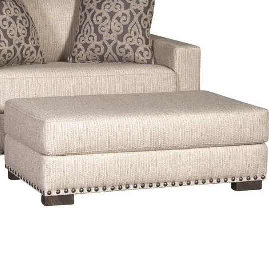 7101 Ottoman by Mayo at Wilcox Furniture