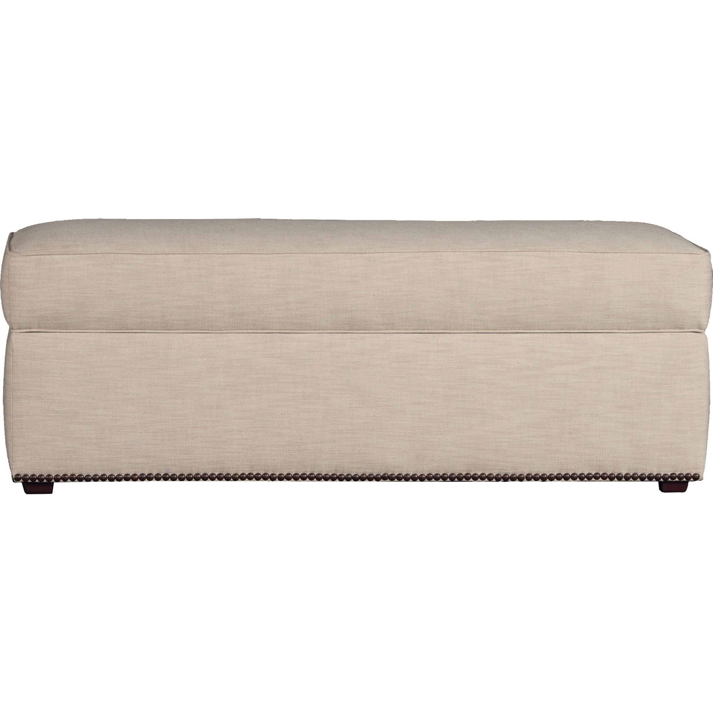 7140 Small Storage Bench by Mayo at Pedigo Furniture