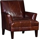 Mayo 8631 Chair - Item Number: 8631L40-Monte Cristo Chestnut
