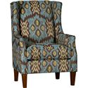 Mayo 8840 Wing Chair - Item Number: 8840F40-DORATI