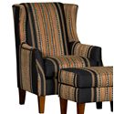Mayo 8840 Wing Chair - Item Number: 8840F40-PONDBO