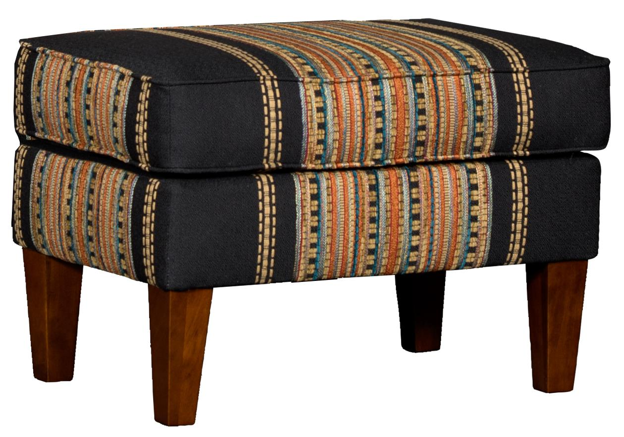 8840 Ottoman by Mayo at Wilcox Furniture