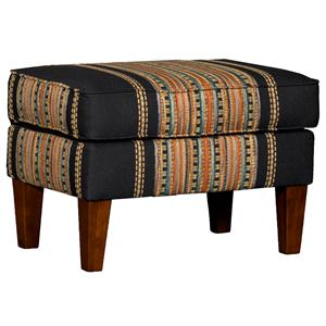 8840 Rectangular Ottoman w/ Welt Cording by Mayo