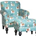 Mayo 8960 Traditional Chair - Item Number: 8960F40-LLAMAQ