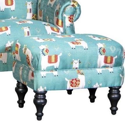 8960 Ottoman by Mayo at Wilcox Furniture