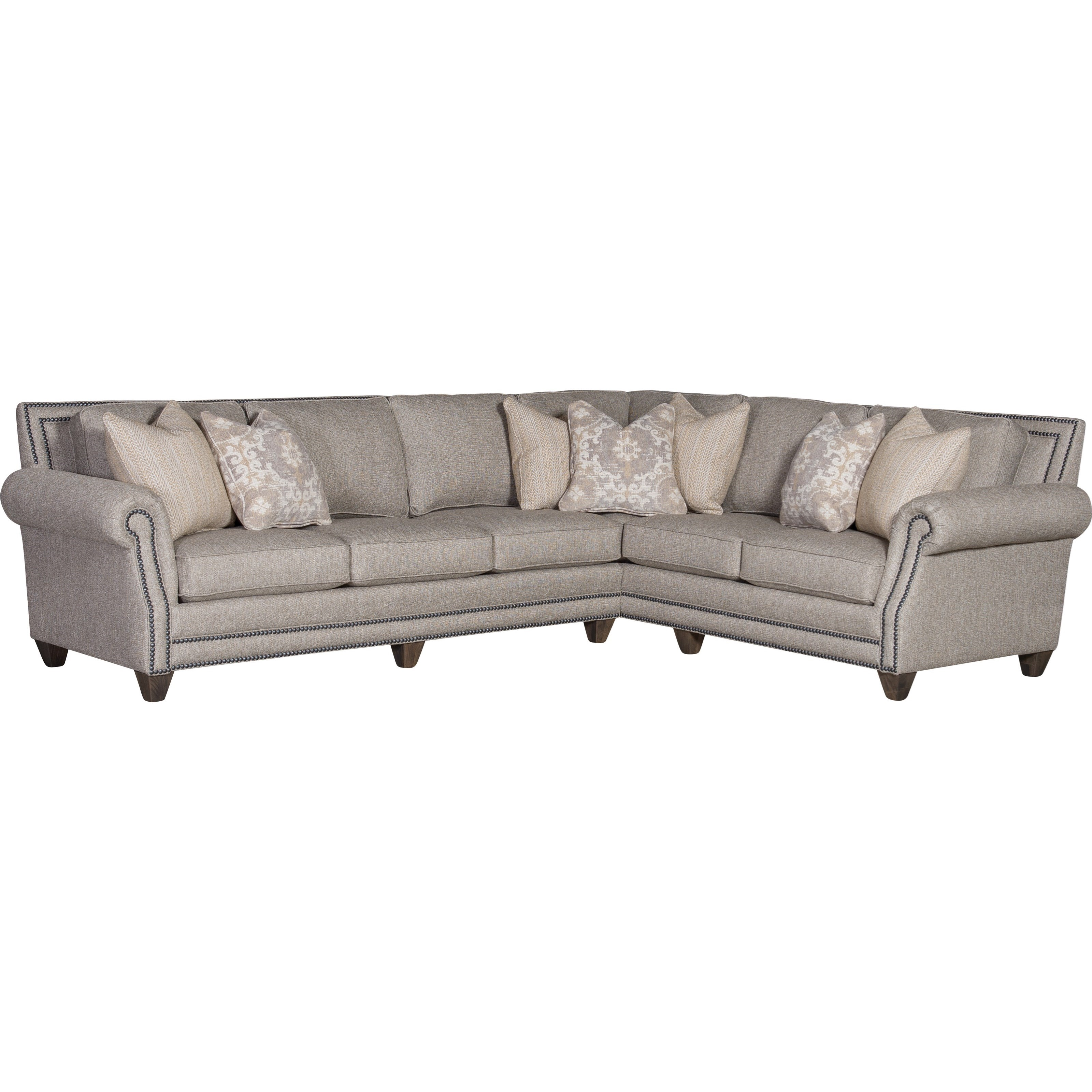 Mayo 9000 2-Piece Sectional with RAF Corner Sofa | Howell Furniture ...