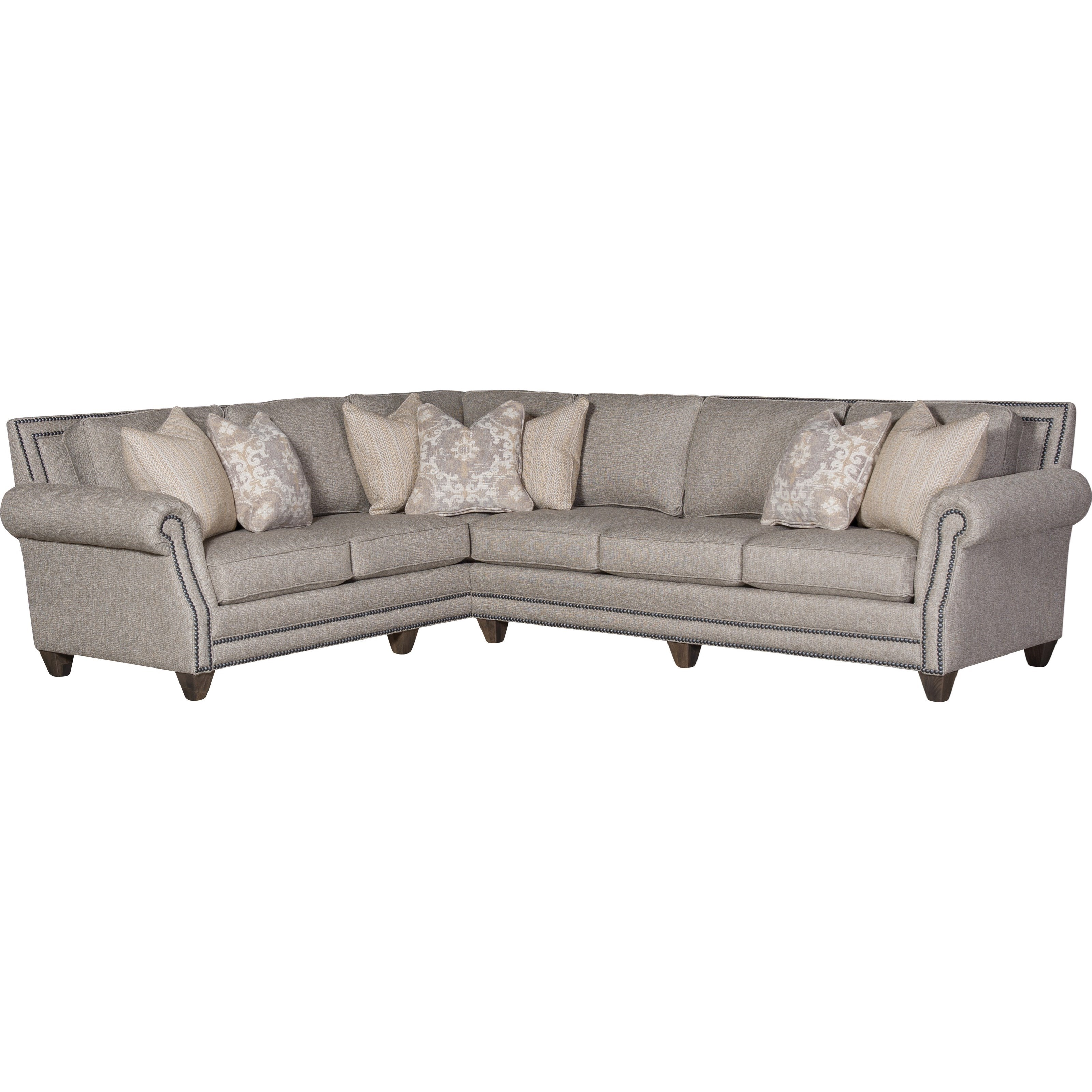 Mayo 9000 2-Piece Sectional with LAF Corner Sofa | Howell Furniture ...