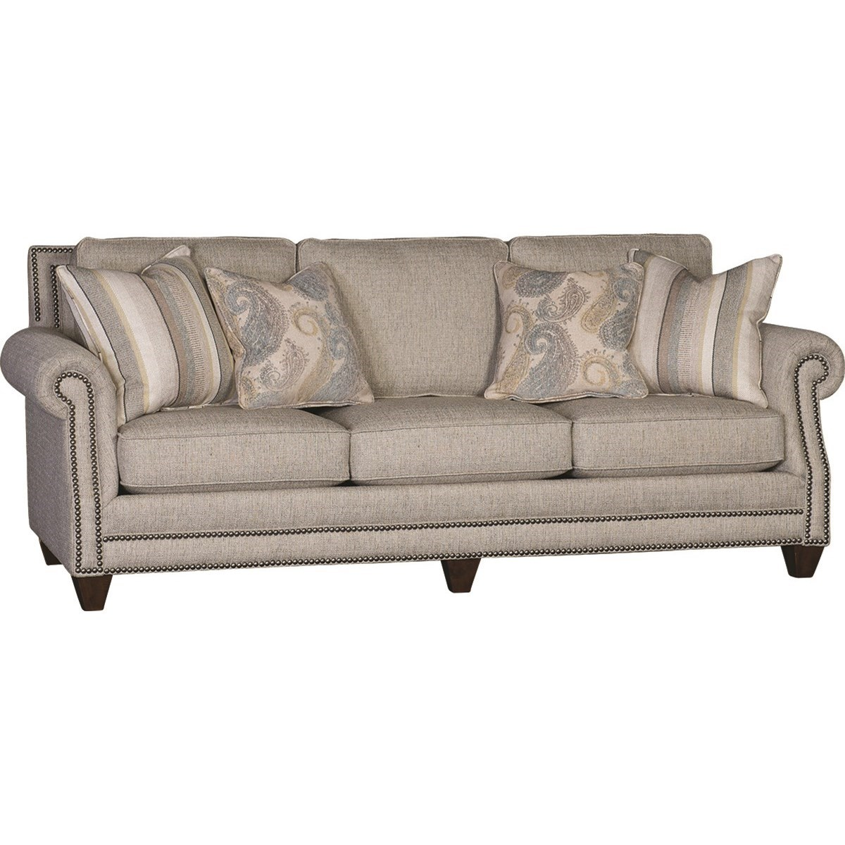 9000 Traditional Sofa by Mayo at Wilcox Furniture
