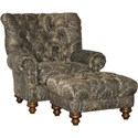 Mayo 9310 Chair and Ottoman - Item Number: 9310F40+50-CHARSM