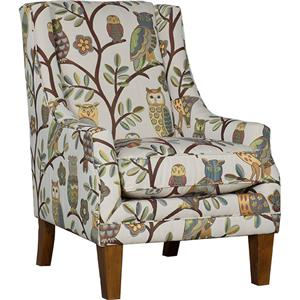Mayo Wise Guy Accent Chair