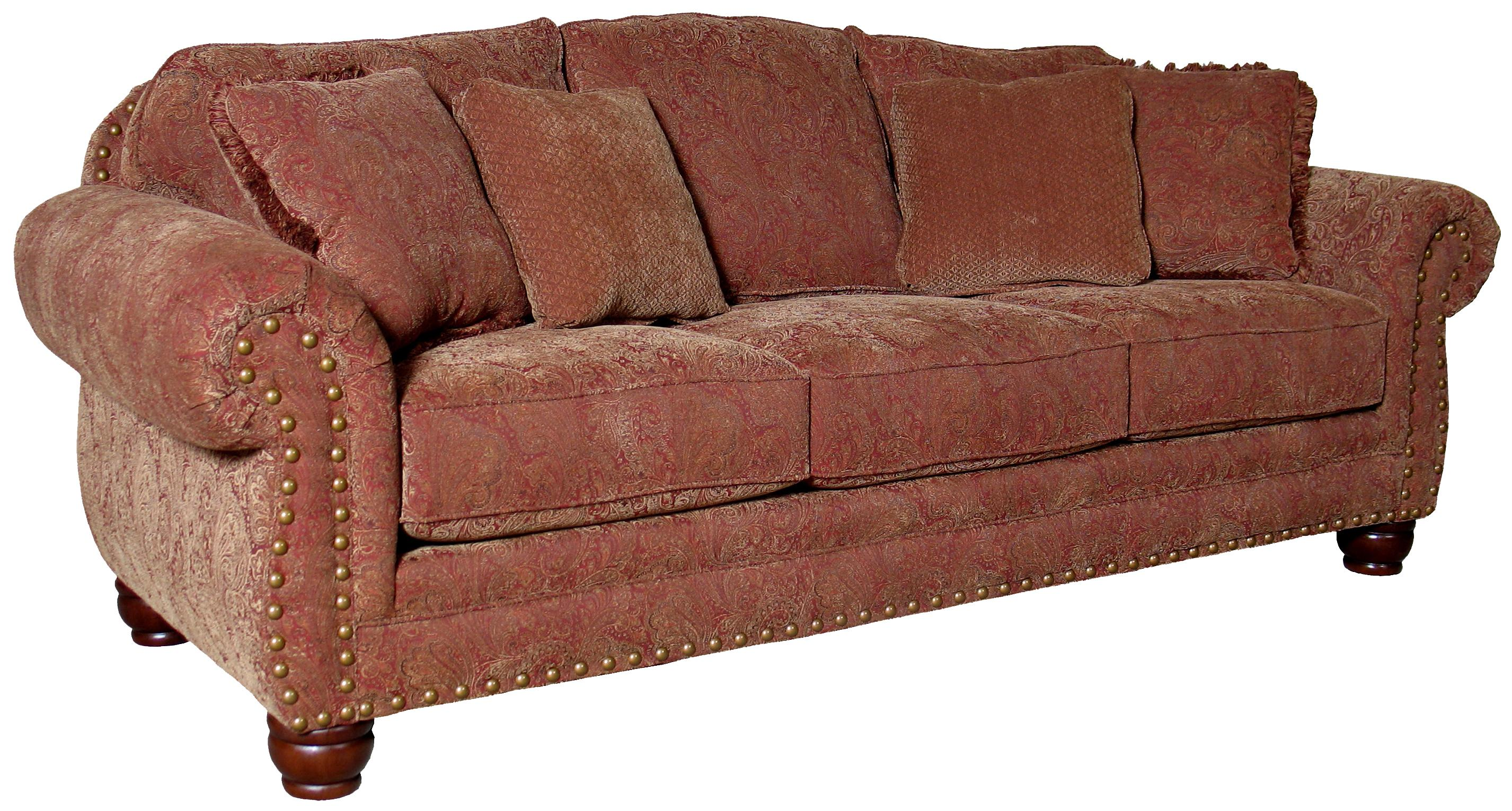 3180 Sofa by Mayo at Wilson's Furniture