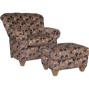 Mayo 8850 Chair and Ottoman