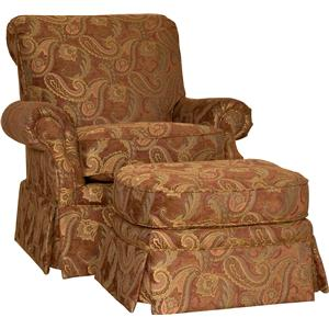 Mayo 9521 Chair and Ottoman