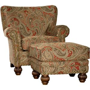 Mayo 9730 Chair and Ottoman