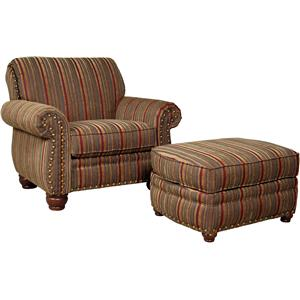 Mayo 9780 Chair and Ottoman