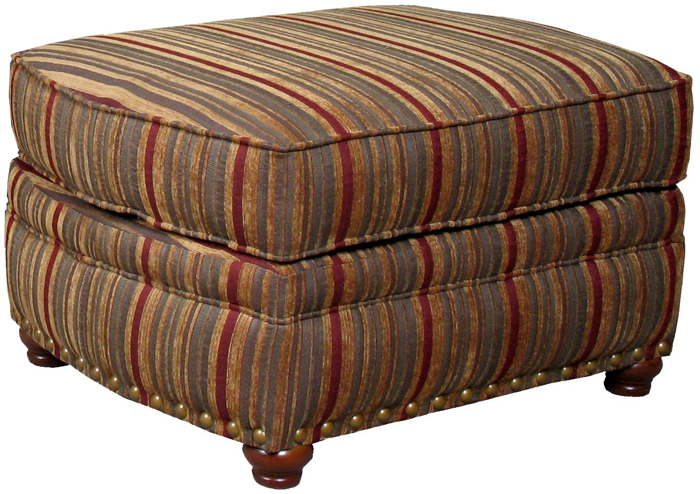 9780 Ottoman by Mayo at Wilcox Furniture